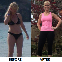 Robyn Sweeting before and after