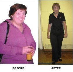 Sheila_before and after JM Fitness