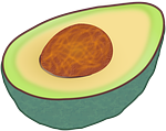 Avocado is a magnesium rich food